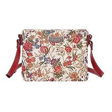 signare, tapestry, tapestry bag, bag detail, travel bag, floral bag