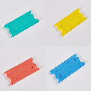 toe stretcher separator,toe sponge toe separator,foam toe separator sponge,soft sponge toe separator