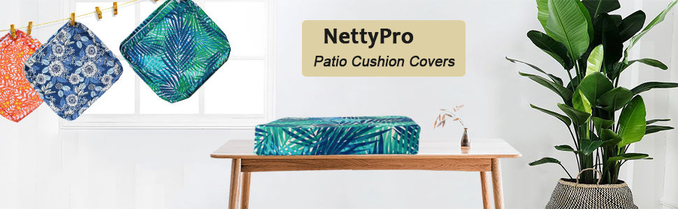 outdoor cushion slipcover