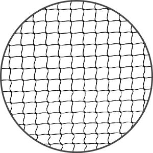 PowerNet Badminton knotless netting.