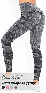 Radfahren SomeTeam Damen Sports Leggings Slim Fit Hohe Taille Lange mit Bauchkontrolle Honeycomb Scrunch Sport Blickdicht Yogahose Fitnesshose Laufhose Tights f/ür zum Laufen