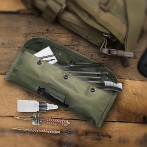 Gun Cleaning Kit Set Brushes Cleaner Set Tools Universal Butt Stock