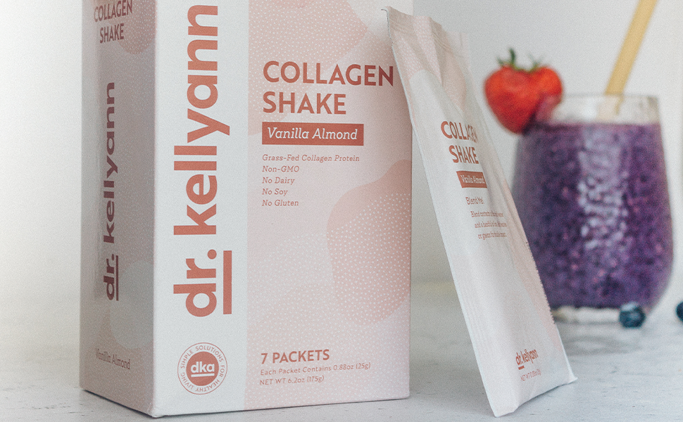 Vanilla Collagen Shake with Smoothie