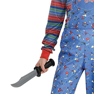 props accessories knife weapon chucky character cosplay costume horror scary spooky eerie halloween