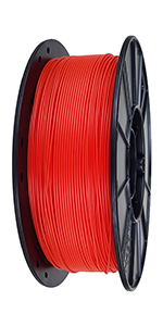 Fire Engine Red PLA 3D Printing Filament