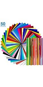 50 pack vinyl sheet