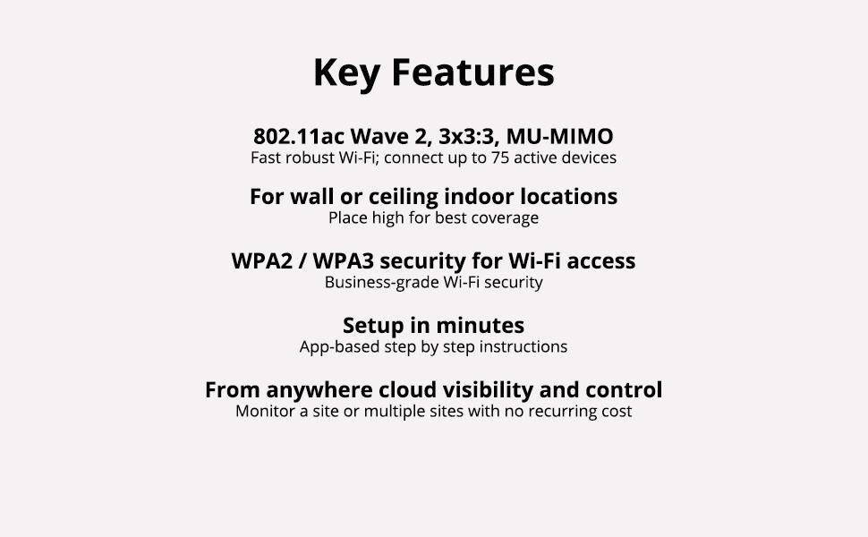 AP12 Key Features