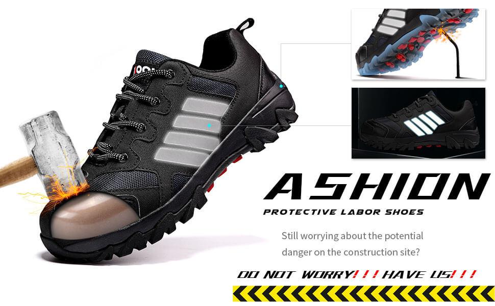 Zapatos de industria y construcción