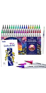 36 Colors Watercolor Brush Marker