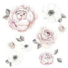 Floral Garden Wall Decals