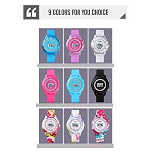Colorful Kids Watch