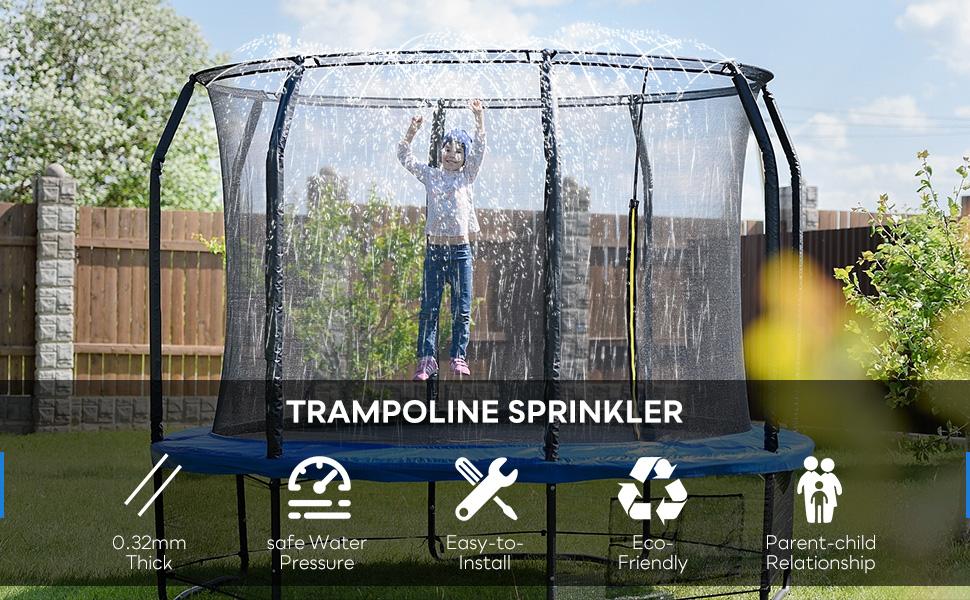 play springing games sprinkler