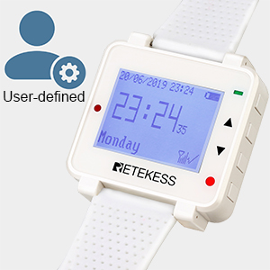 restaurant pager system User-friendly Watch Pager