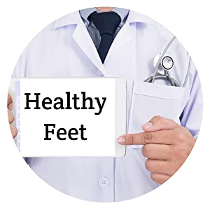 healthy feet begin at home