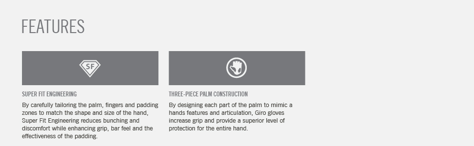 bravo junior youth gloves features