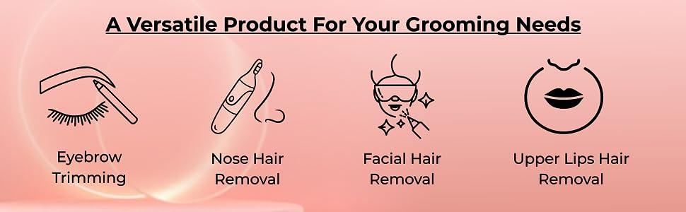 B08J45G3M8 Eyebrow Hair Remover,Face,Lips,Nose Hair Removal Trimmer,Facial Hair Remover SPN FOR-1