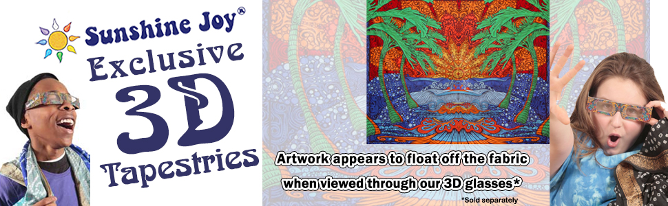 Sunshine Joy 3D Tapestries