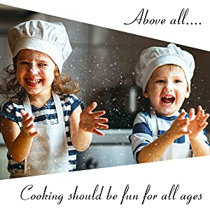 Cooking should be fun for all ages