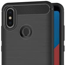 Max Power Digital Funda Carbono para Xiaomi Mi A2 / 6X Silicona Flexible TPU Carcasa Protectora diseño Fibra de Carbono antigolpes elástica (Xiaomi Mi A2, Negro): Amazon.es: Electrónica