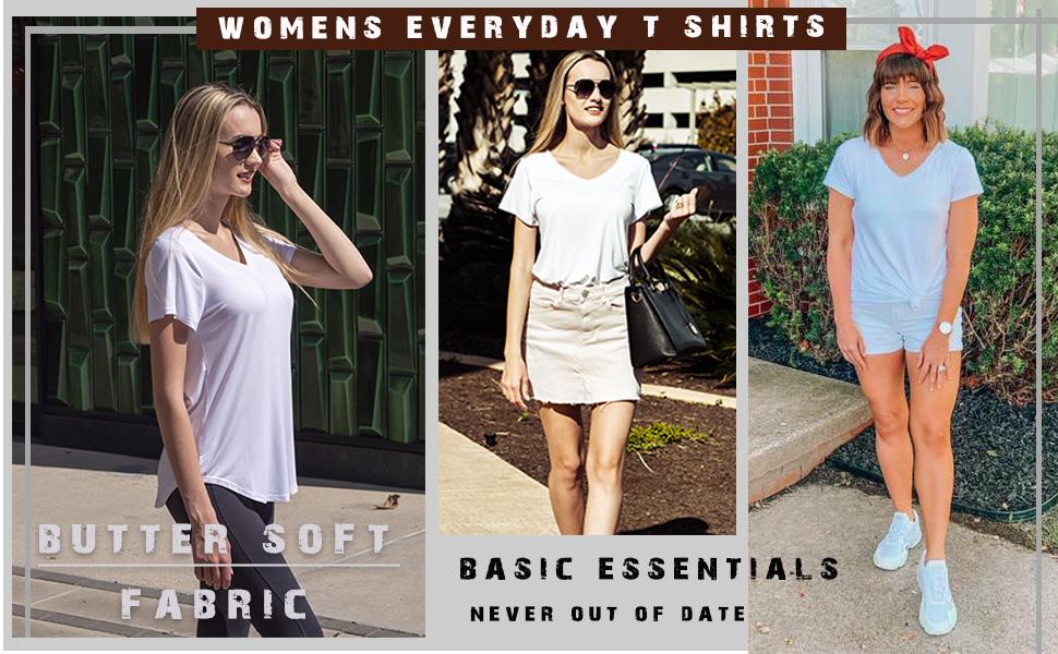 basic   t shirts for women
