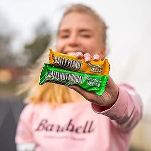 Barebells vegan protein bars