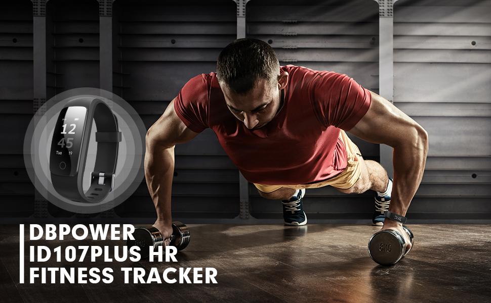 dbpower Fitness Tracker Pulsera Actividad, Pulsera Inteligente con ...