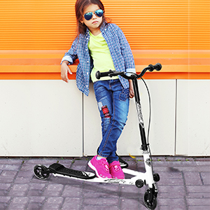 Tri Scooter Children 3 Wheels Foldable Speeder