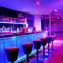 led strip lights for bar decor