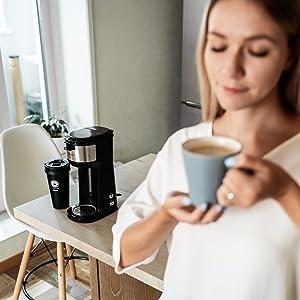 single serve coffee maker k cup