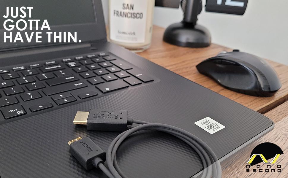 nanosecond, HDMI, thin