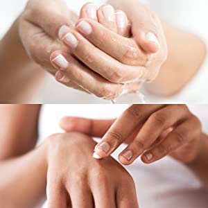 For maximum protection, wash hands with LSC Cleanser then Apply LSC Moisturizer.