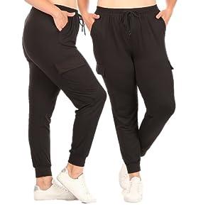Plus Size joggers, plus size Yoga leggings,pocket leggings plus,Capri Yoga bottoms,plus size sweats