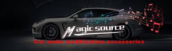 magic source car audio modification accessories 8ga wring kit distribution block fuse holder