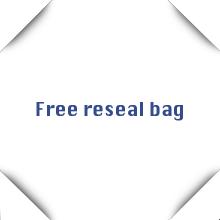 free reseal bag