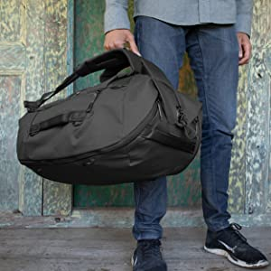 Duffel hand carry. (Black)