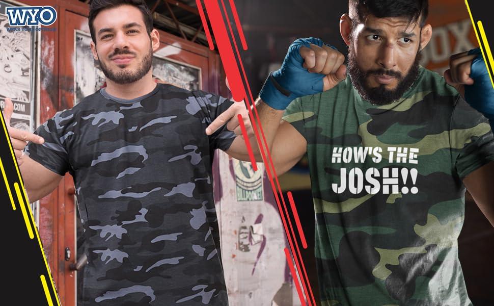 Mens army military tshirts