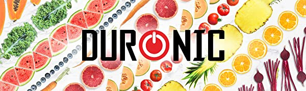 Duronic JE2 Licuadora de 200W para frutas y verduras – 2 ...