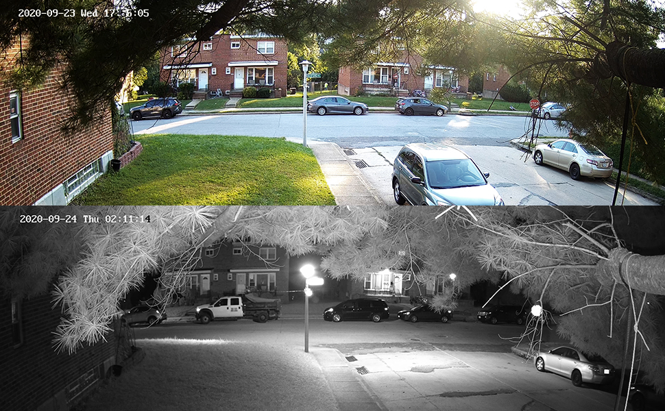4k ultra day night vision