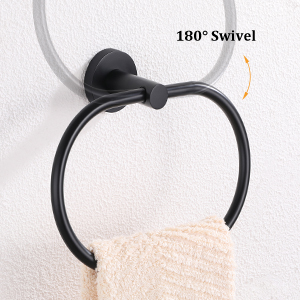 swivel towel ring for easy use