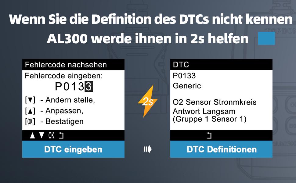 DTC automatisch definition