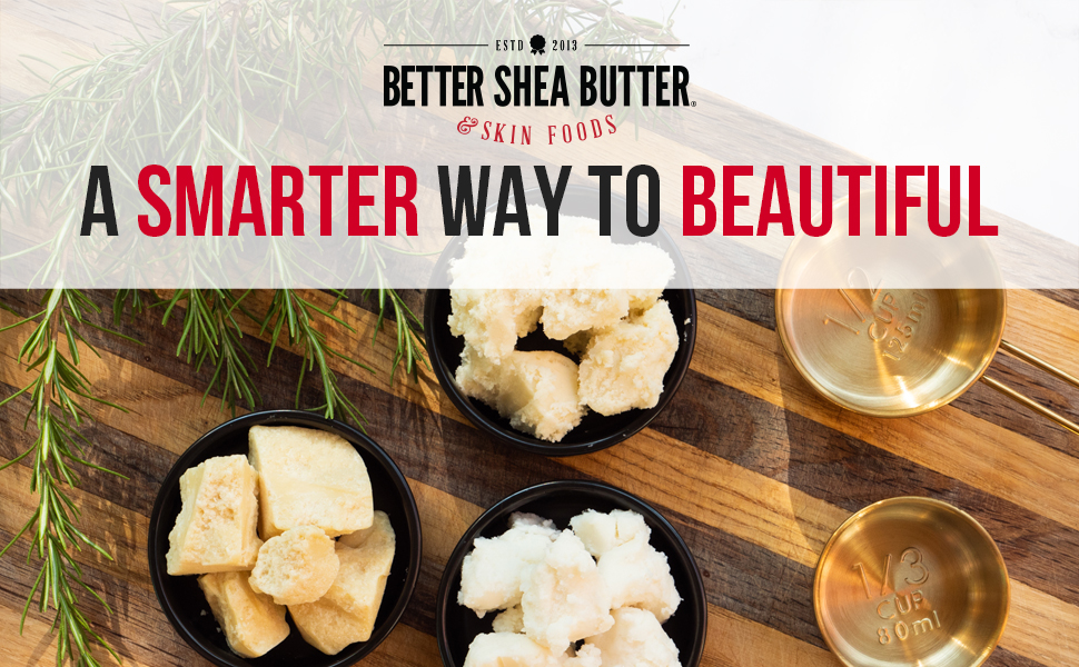 better shea butter shea kokum cocoa mango butters