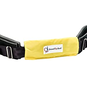 Image of Hands-Free Middle-Back Strengthener with padded chest piece for added comfort