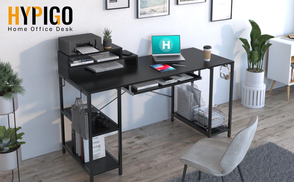55 inch desk music production desk  escritorios de computadora
