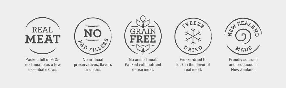 Meat mates healthy grain free freeze dried dog food