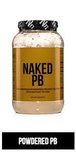 vegan powdered pb
