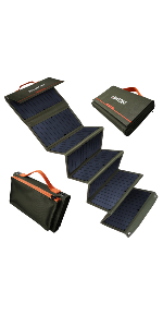 60W folding solar panel