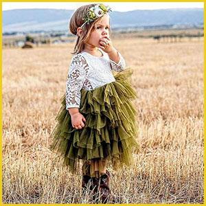 lace tulle tutu princess dress