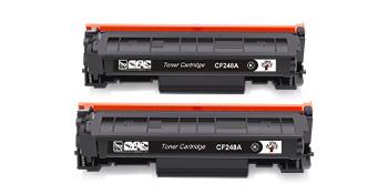 GreenSky HP 48A CF248A Toner Cartridges 1 2 4 Pack combo