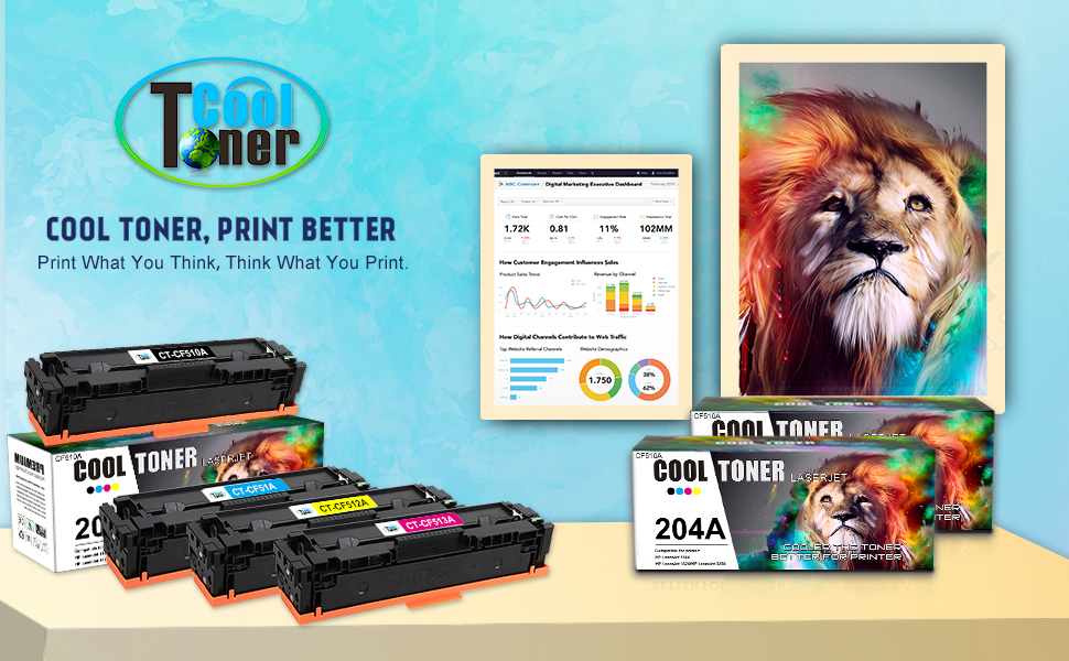 5x Eurotone ECO Toner für HP Color LaserJet Pro MFP M-180-n M-180-fndw M-181-fw