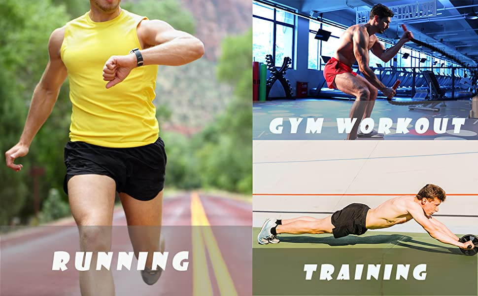 running workout athletic training